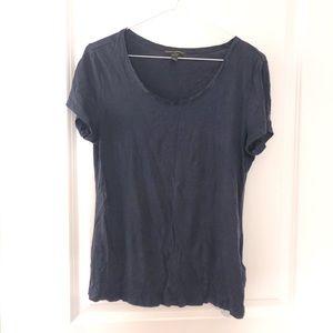 Free with bundle- purple T-shirt with satin trim